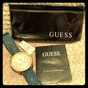 Guess jean watch